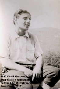 1939-14 David Sive, Hike, Watertown to Lake Placid, NY