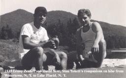 1939-21 Lenny Zencker & David Sive, Hike, Watertown to Lake Placid, NY